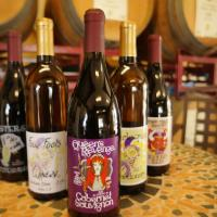 Four Fools Winery - bottles of signature wine