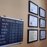 Massage business certifications